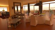 Salle de petit déjeuner 3d model