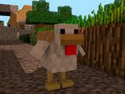 Minecraft Chicken Rig 3d model