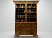 Glazed Bookcase 3d model
