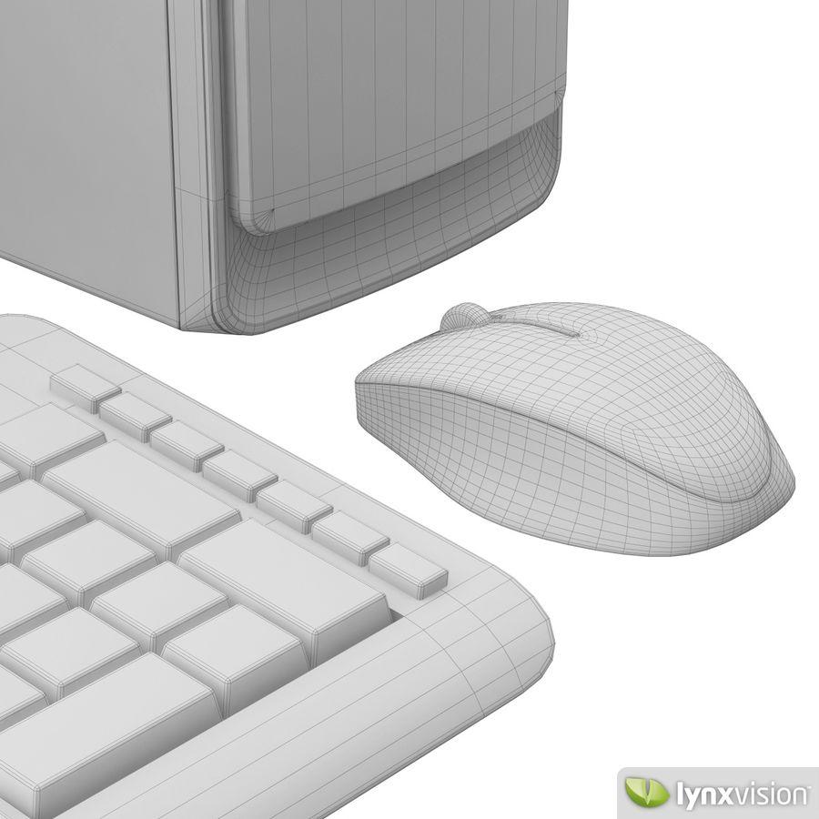 HP Pavilion Slimline Desktop Computer royalty-free 3d model - Preview no. 6