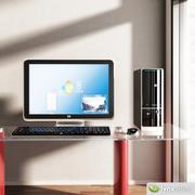 HP Pavilion Slimline stationär dator 3d model