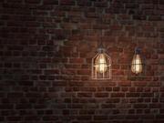 Lámpara Teondore Cage + Bombilla Edison modelo 3d