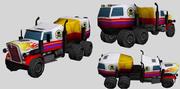 Recipiente de caminhão monstro 3d model