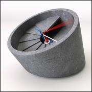 4th Dimension Contemporary Concrete Clock 3d model