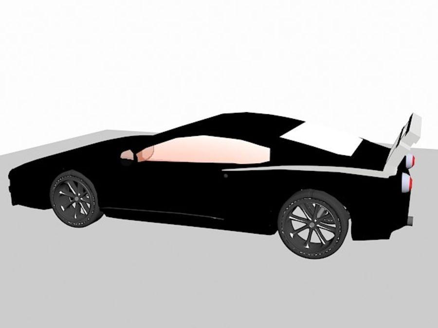 Racing Car royalty-free 3d model - Preview no. 1