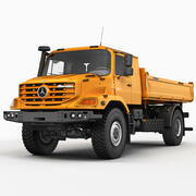 Mercedes Zetros Damper 3d model