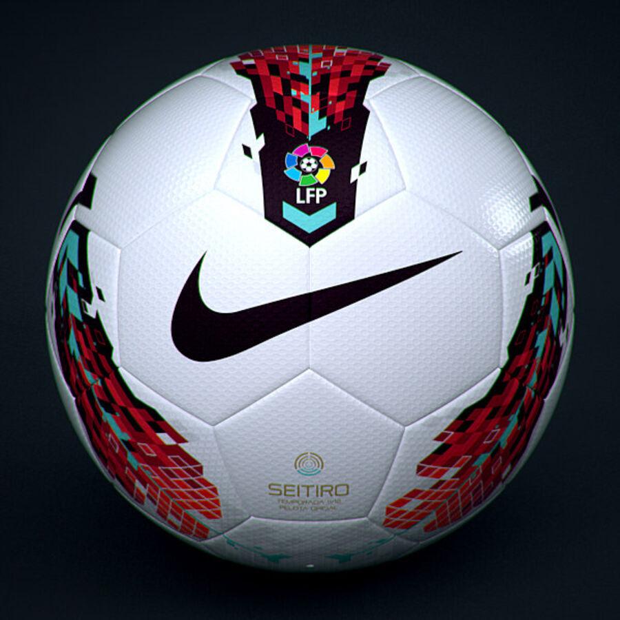 2011 2012 Spaanse La Liga-wedstrijdbal royalty-free 3d model - Preview no. 3