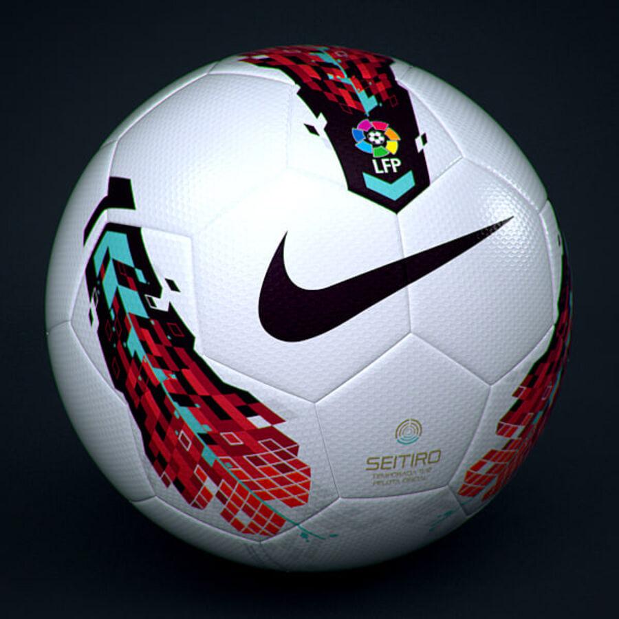 2011 2012 Spaanse La Liga-wedstrijdbal royalty-free 3d model - Preview no. 1