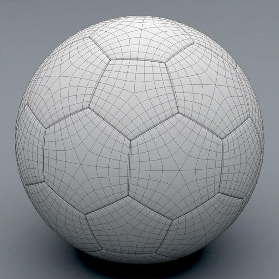 2011 2012 Spaanse La Liga-wedstrijdbal royalty-free 3d model - Preview no. 9