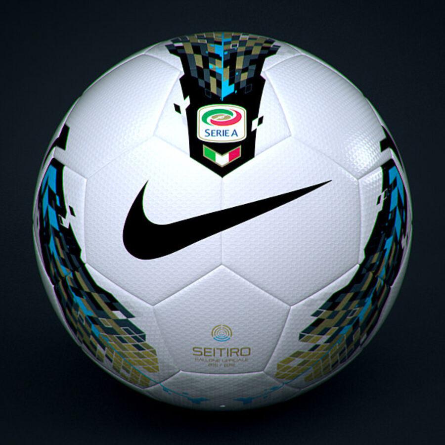 2011 2012 Lega Calcio Serie A Tim Match Ball royalty-free 3d model - Preview no. 3