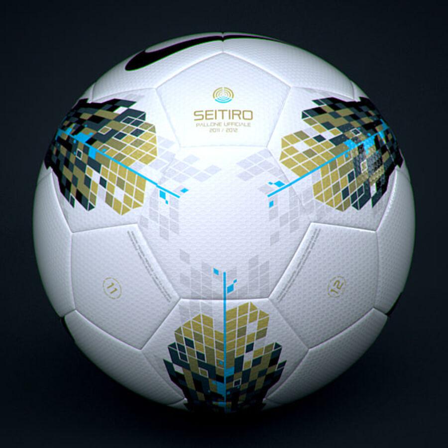 2011 2012 Lega Calcio Serie A Tim Match Ball royalty-free 3d model - Preview no. 2
