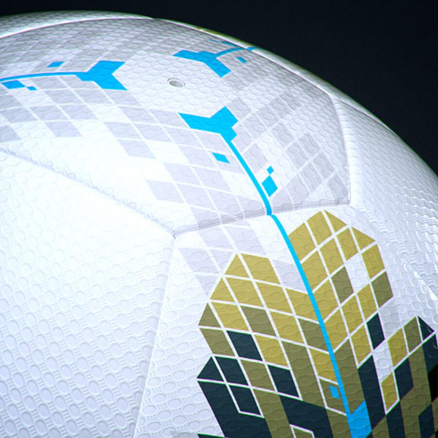 2011 2012 Lega Calcio Serie A Tim Match Ball royalty-free 3d model - Preview no. 6