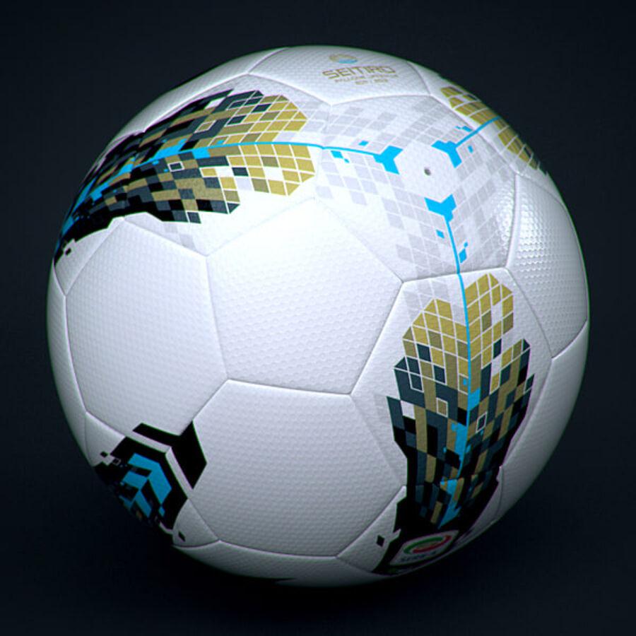 2011 2012 Lega Calcio Serie A Tim Match Ball royalty-free 3d model - Preview no. 4