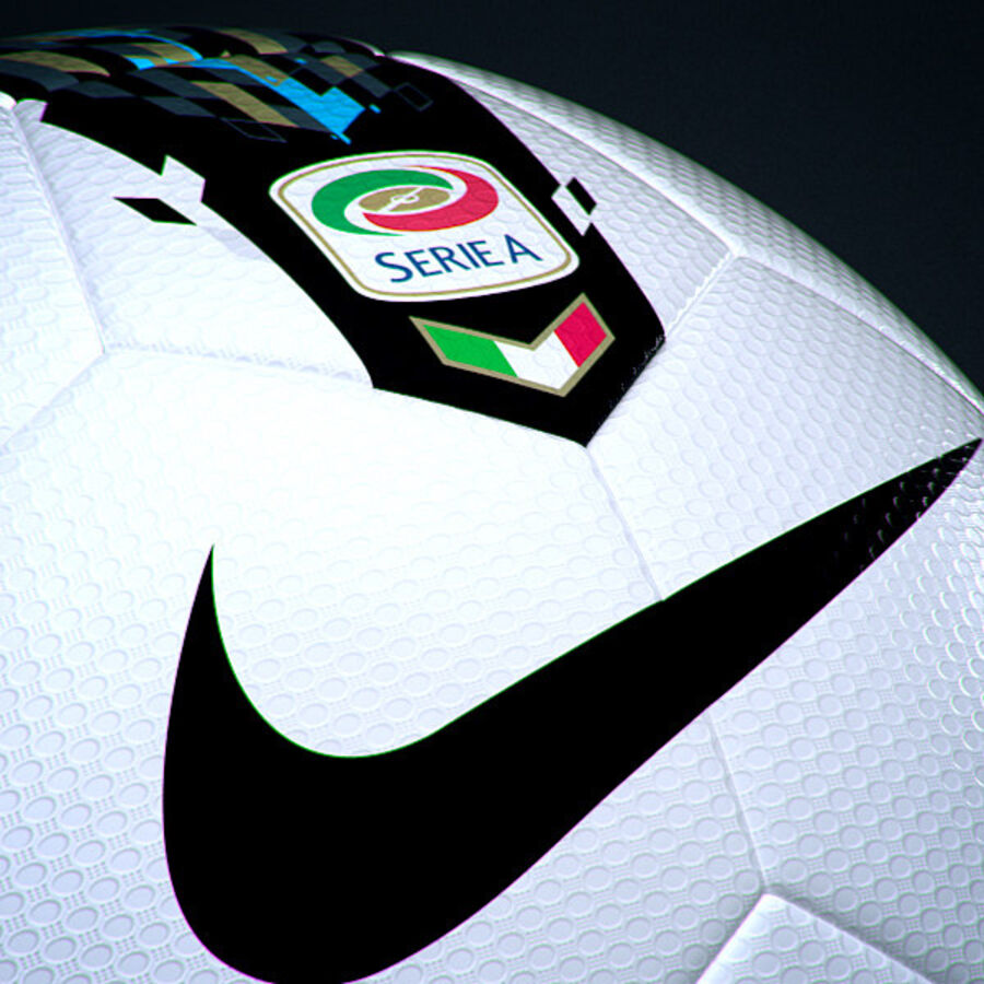 2011 2012 Lega Calcio Serie A Tim Match Ball royalty-free 3d model - Preview no. 5