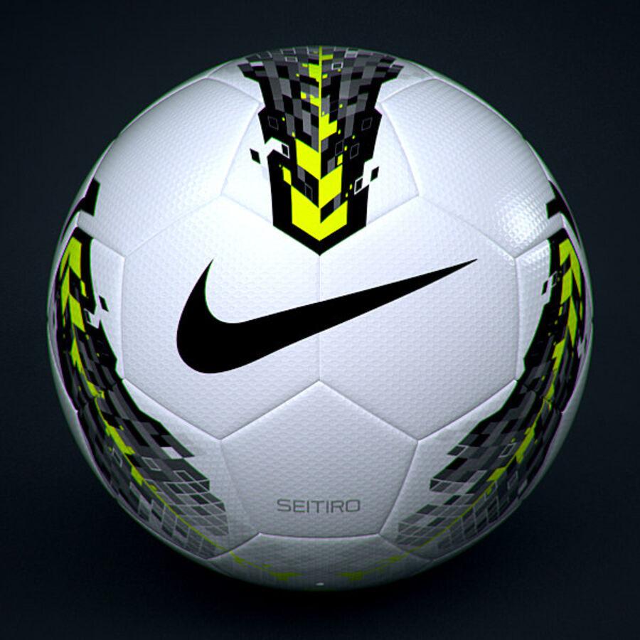 2011 2012 Nike T90 Seitiro wedstrijdbal royalty-free 3d model - Preview no. 3
