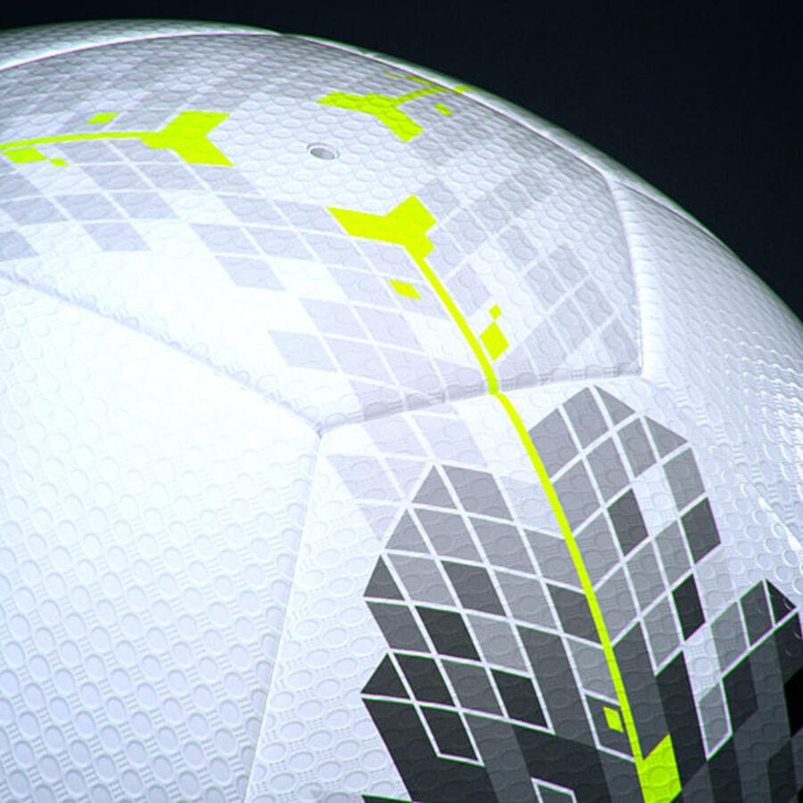 2011 2012 Nike T90 Seitiro wedstrijdbal royalty-free 3d model - Preview no. 6