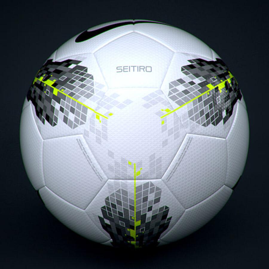 2011 2012 Nike T90 Seitiro wedstrijdbal royalty-free 3d model - Preview no. 2
