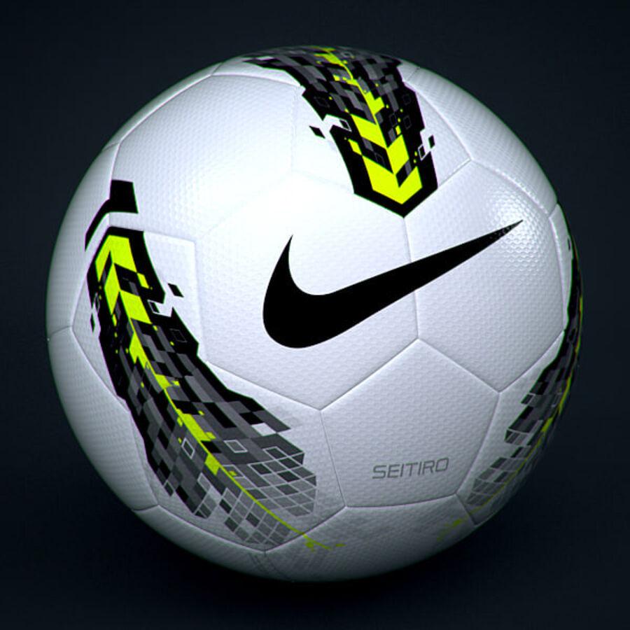 2011 2012 Nike T90 Seitiro wedstrijdbal royalty-free 3d model - Preview no. 1