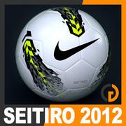 2011 2012 Nike T90 Seitiro Match Balón modelo 3d