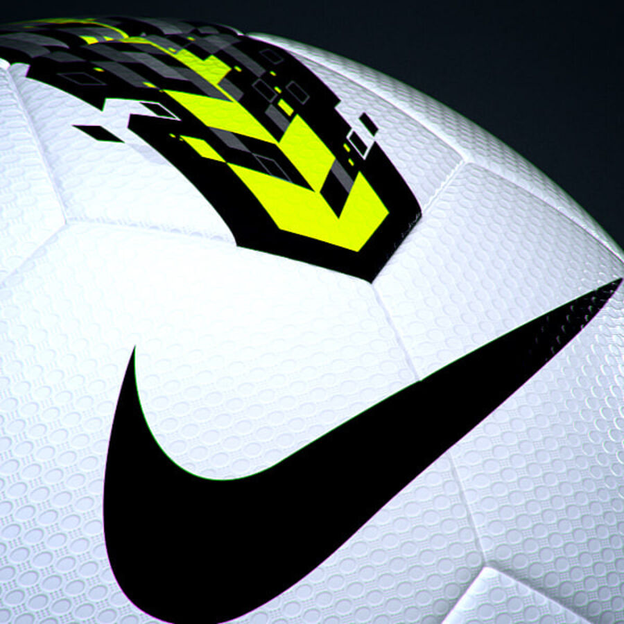 2011 2012 Nike T90 Seitiro wedstrijdbal royalty-free 3d model - Preview no. 5
