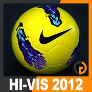 2011 2012 Nike T90 Seitiro Winter Hi-Vis Match Balón modelo 3d