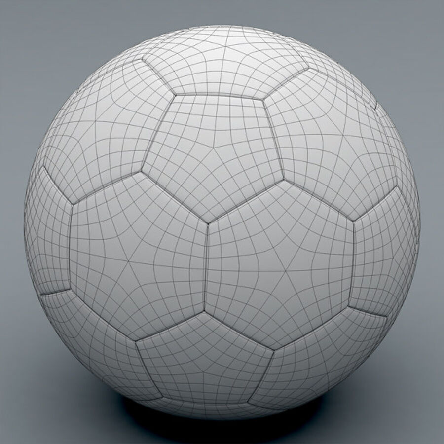 2011 2012 Nike T90 Seitiro Winter Hi-Vis Match Ball royalty-free 3d model - Preview no. 9