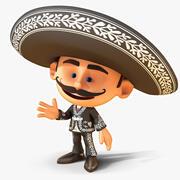 Mexican Mariachi 3d model