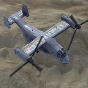 Marine MV22 Fischadler 3d model
