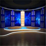 Studio virtuale (1) 3d model