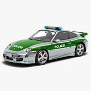 Porsche 911 Carrera polisbil 3d model