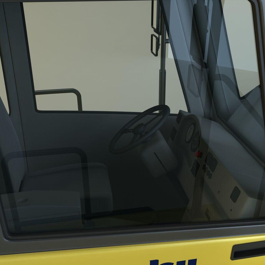 Autocisterna Komatsu HM400 royalty-free 3d model - Preview no. 12