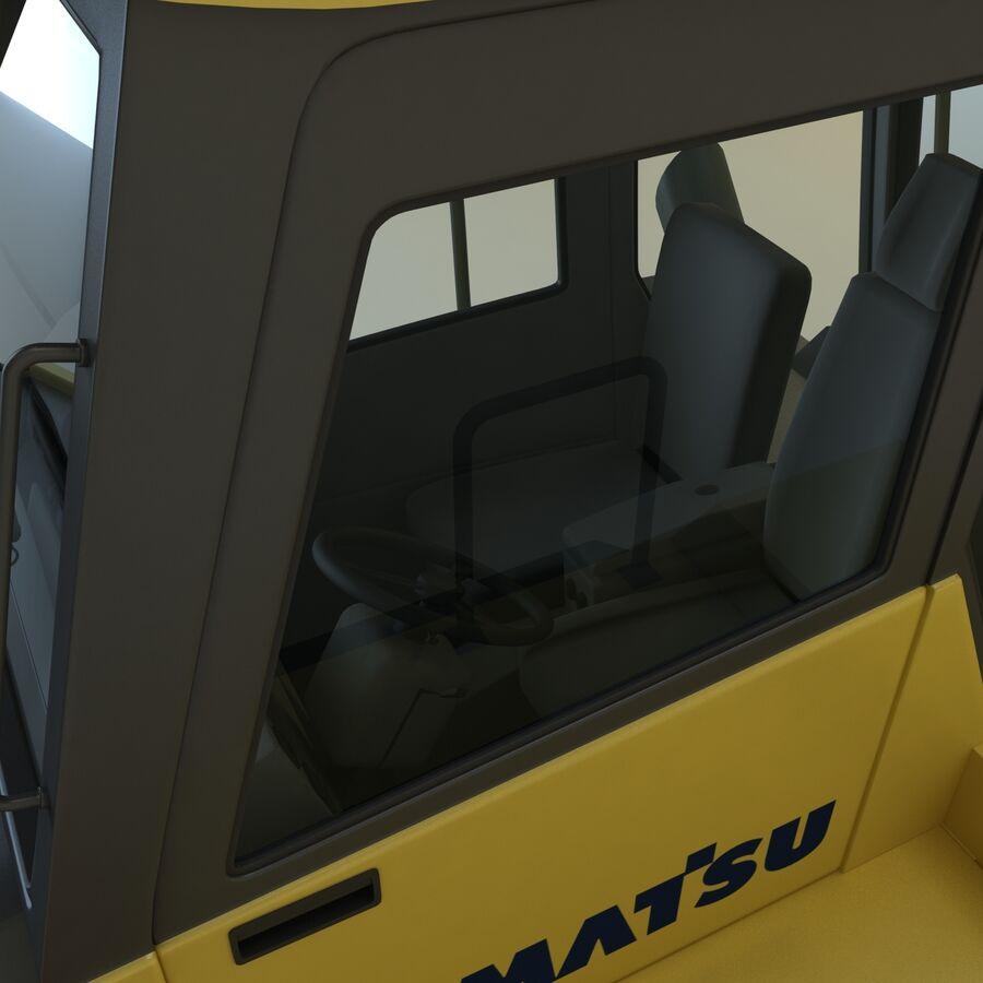 Autocisterna Komatsu HM400 royalty-free 3d model - Preview no. 13