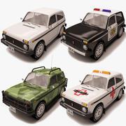 Lada Niva_collection 3d model