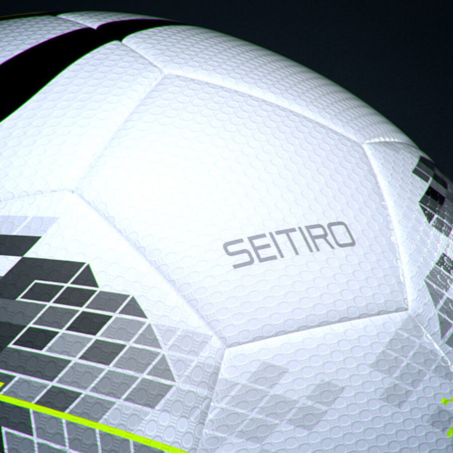 2011 2012 Nike T90 Seitiro Leagues Match Balls Pack royalty-free 3d model - Preview no. 35