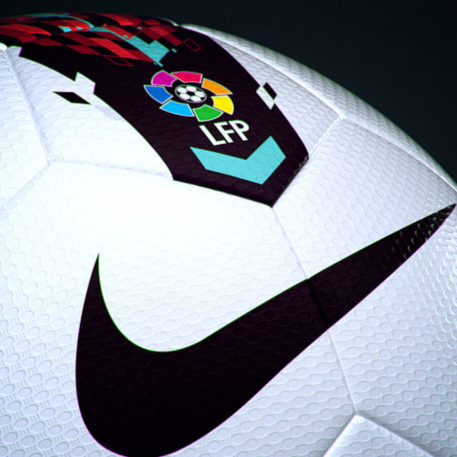2011 2012 Nike T90 Seitiro Leagues Match Balls Pack royalty-free 3d model - Preview no. 18