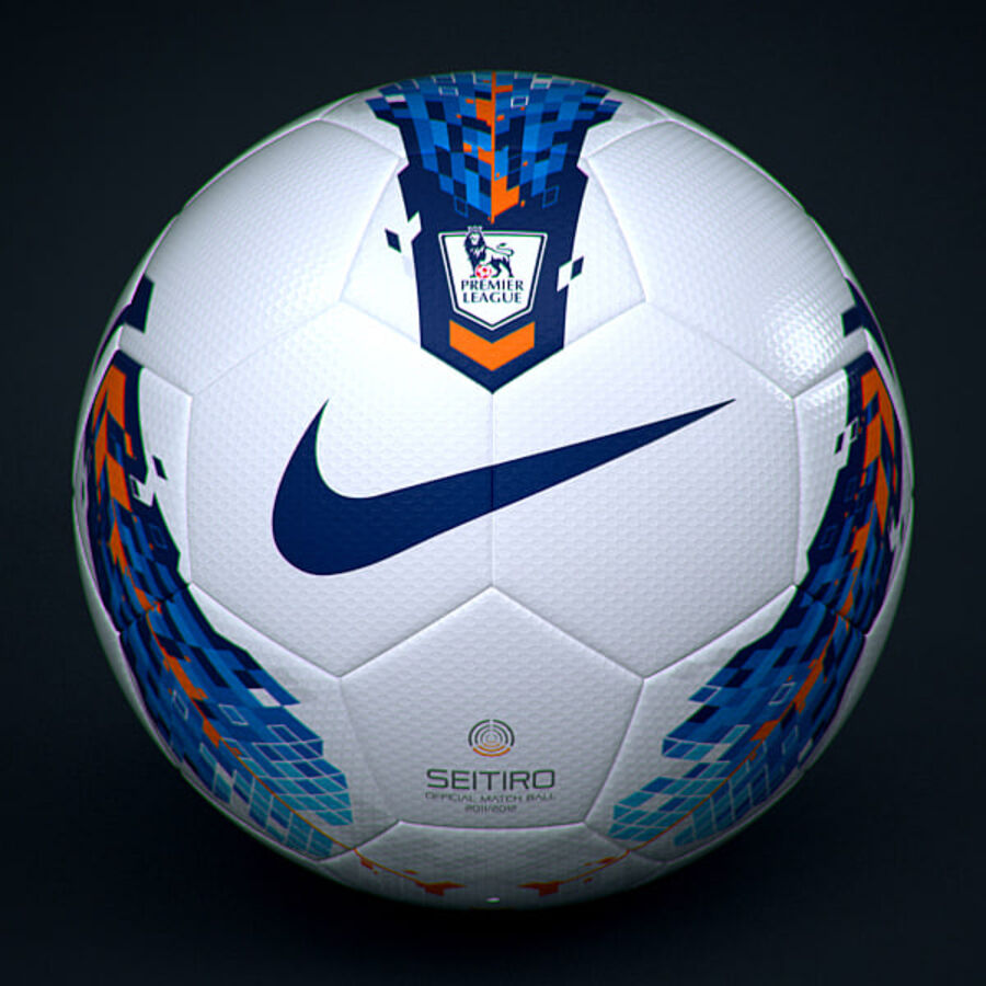2011 2012 Nike T90 Seitiro Leagues Match Balls Pack royalty-free 3d model - Preview no. 12
