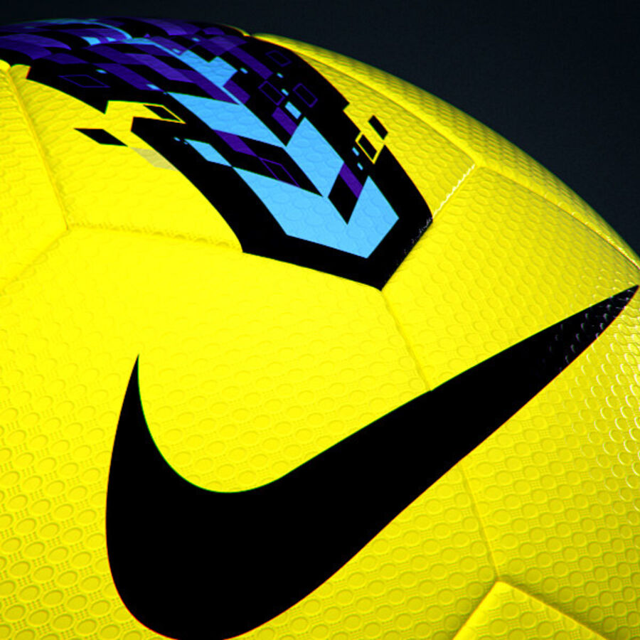 2011 2012 Nike T90 Seitiro Leagues Match Balls Pack royalty-free 3d model - Preview no. 21