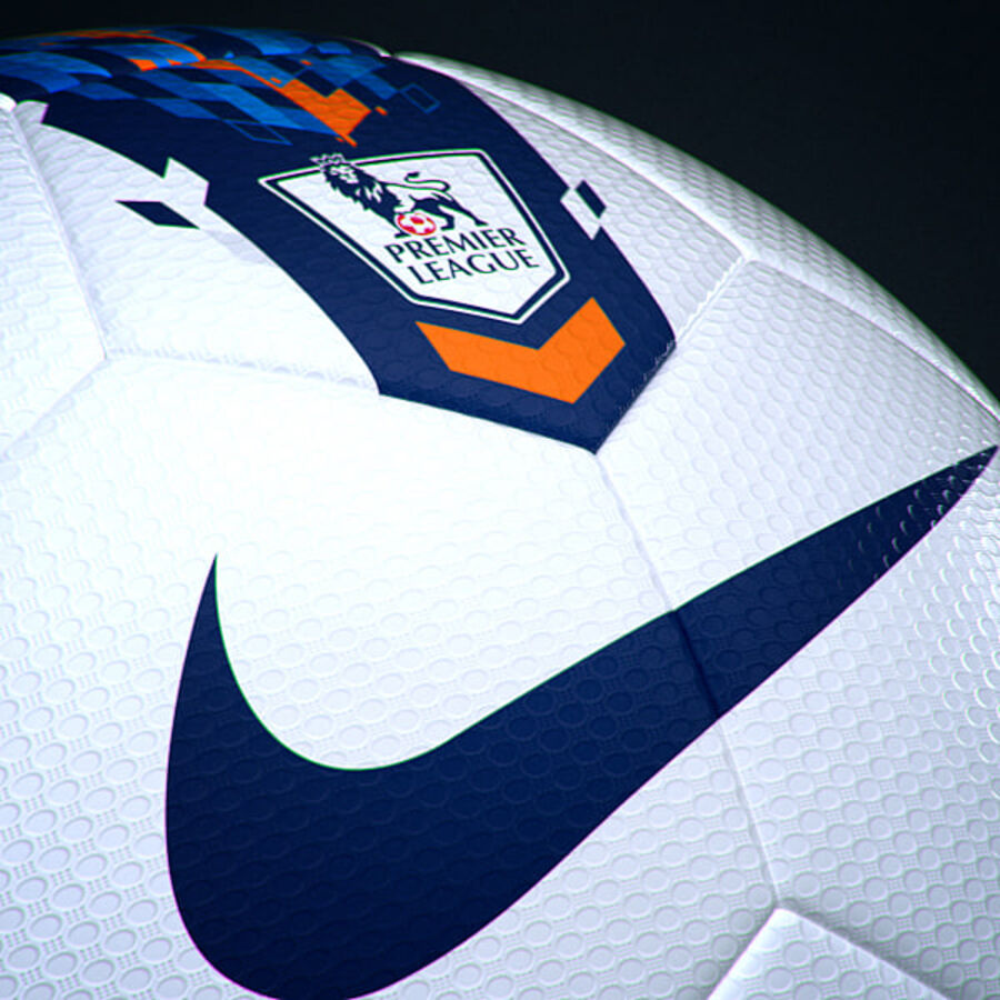 2011 2012 Nike T90 Seitiro Leagues Match Balls Pack royalty-free 3d model - Preview no. 17