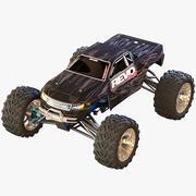 Rigged RC Car 3d model