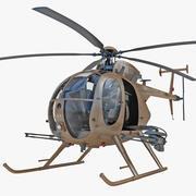 AH-6 Little Bird 3d model