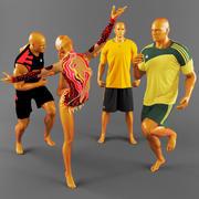 Sports uniforms-2 3d model