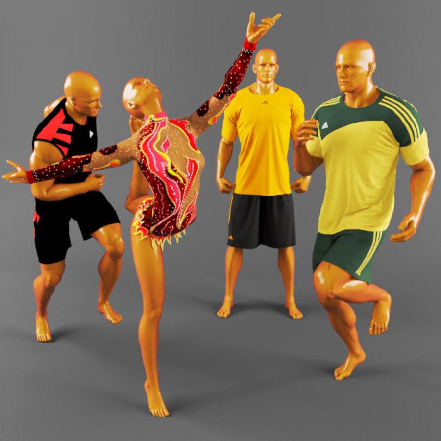 Sports uniforms-2 3D Model $19 -  max - Free3D