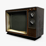 Gamla TV 3d model