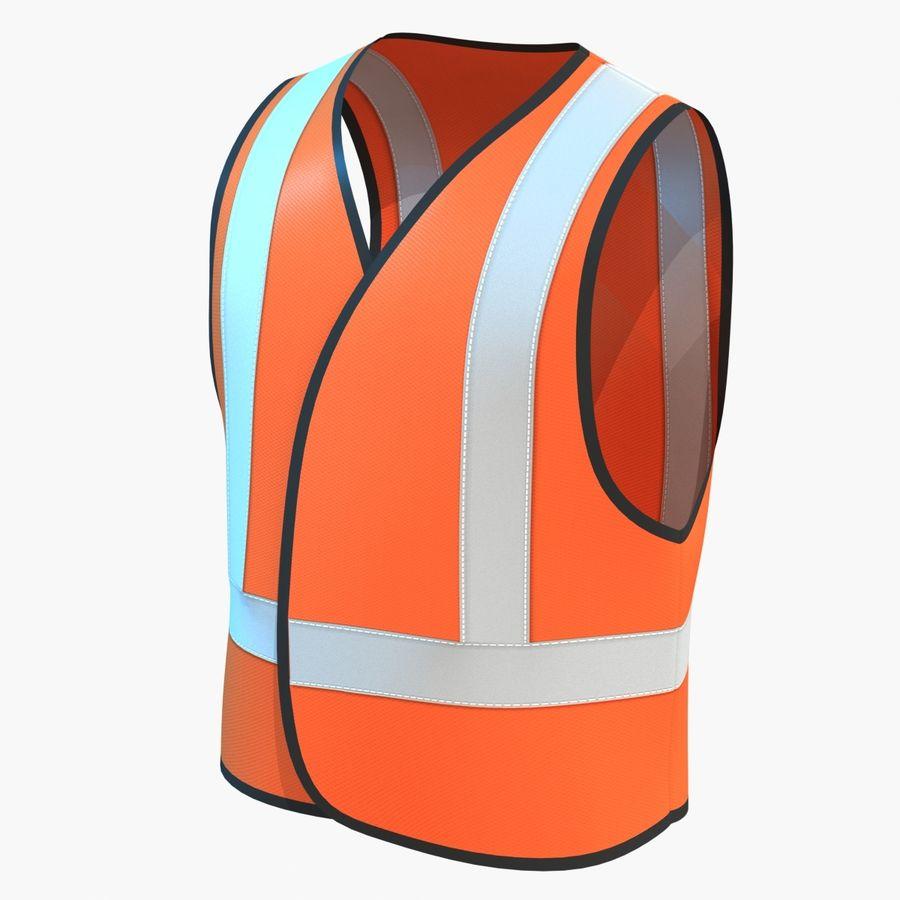 EPP alto da visibilidade da construção da veste da segurança royalty-free 3d model - Preview no. 1