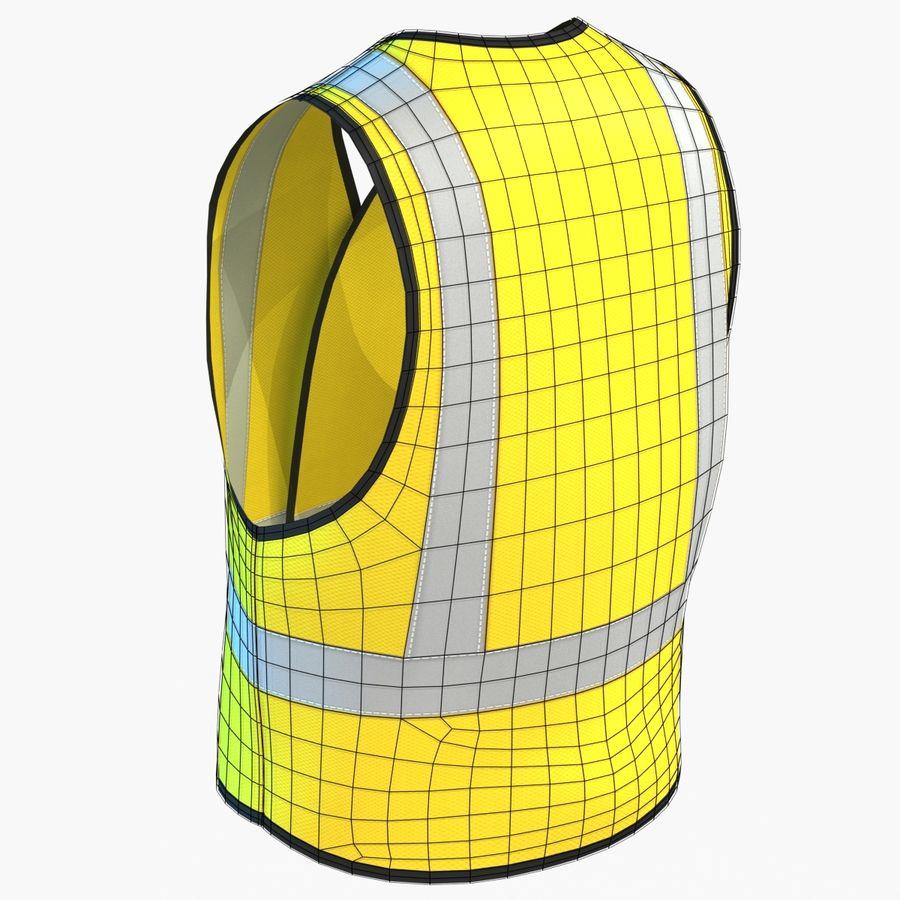 EPP alto da visibilidade da construção da veste da segurança royalty-free 3d model - Preview no. 8