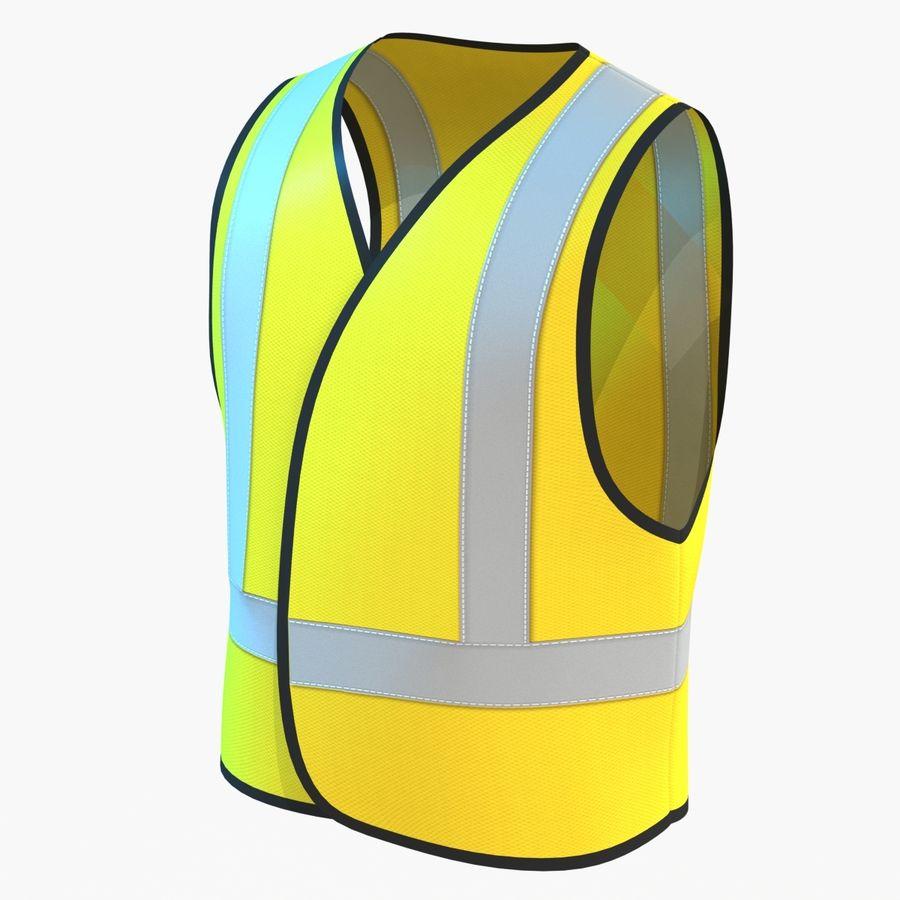 EPP alto da visibilidade da construção da veste da segurança royalty-free 3d model - Preview no. 2