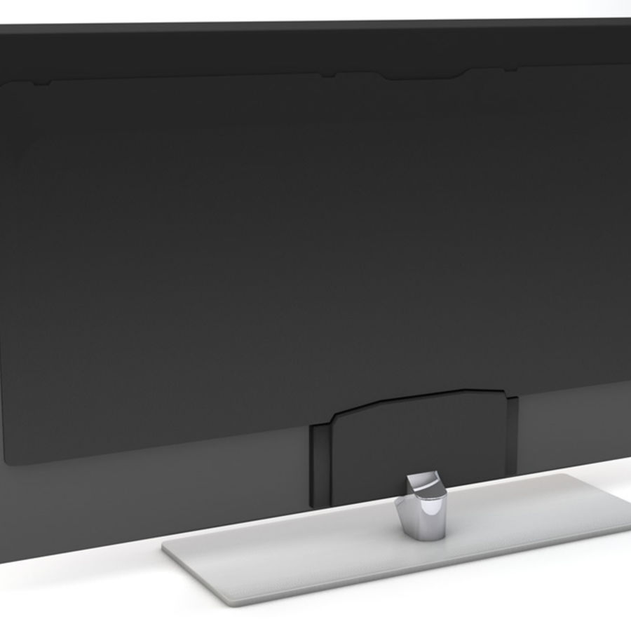 Samsung Smart TV 2 royalty-free 3d model - Preview no. 6