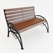 Iron Bench 3d model
