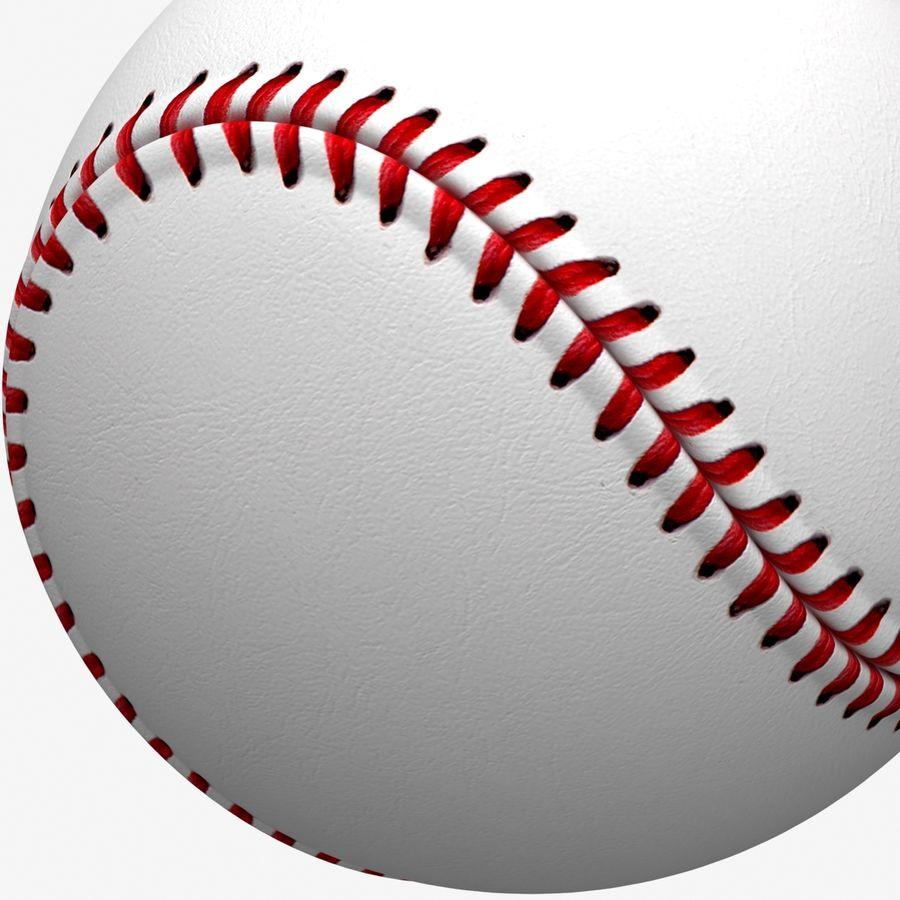 Baseball royalty-free 3d model - Preview no. 8