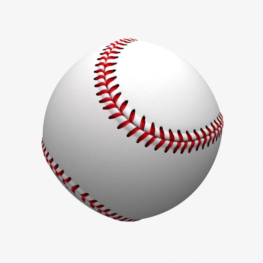 Baseball royalty-free 3d model - Preview no. 3